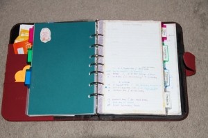 Planner future pages
