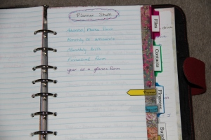 Planner projects example